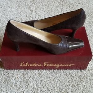 """Salvatore Ferragamo"" pumps"